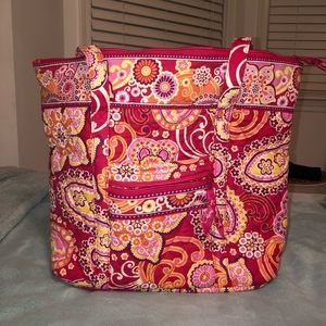 Red/Pink/White/Orange Vera Bradley bag